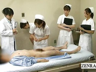 Subtitles Cfnm Japanese Hospital Blowjob