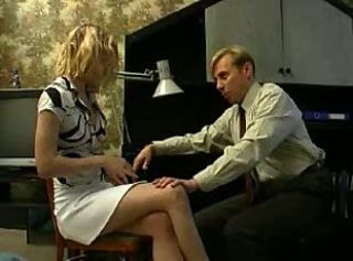 Forced Old and Young Russian Teacher Teen