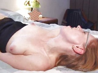 Hairy: Ugly Girl Masturbates, Real Orgasm