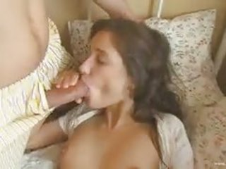 Young Short Haired Brunette Teen Cutie Exposes Her S...