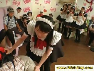 Asian Maids Get Punished And Tied Up For...