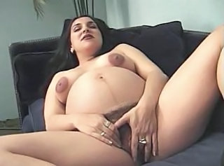 Hairy Pregnant Pussy
