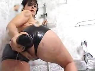 Isabel Ice Ass Enema Latex