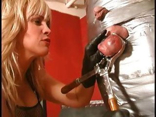 Castrate Me Please! Femdom cbt, ball busting