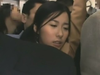 Schoolgirl groped by Stranger in a crowded Train 091 free
