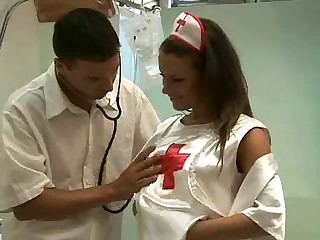 Hot European Nurse Fuck - Hardcore sex video -