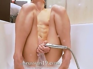 Bathroom Masturbating Orgasm Skinny Small Tits Solo Teen