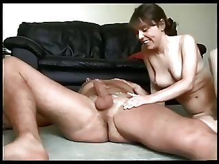 Horny wife fucked on real homemade