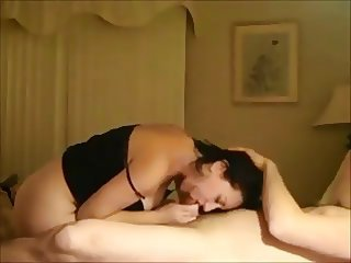 Amateur milf gets fucked on real homemade