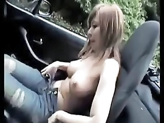 Sexy Car Ride with Chiyo-by PACKMANS