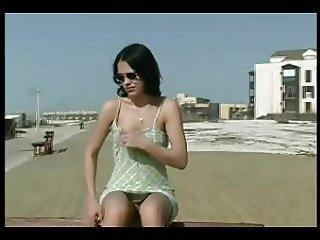 Amateur Casting European French Outdoor Public Teen