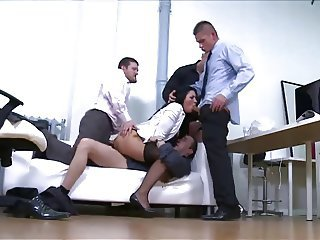 Office Gangbang