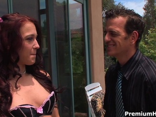 Daddy Lingerie Old and Young Outdoor Redhead Teacher Teen