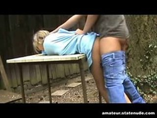 Clothed Doggystyle Forced Hardcore Outdoor Teen