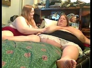 Horny Big Fat BBW Lesbians playing with each other-P1