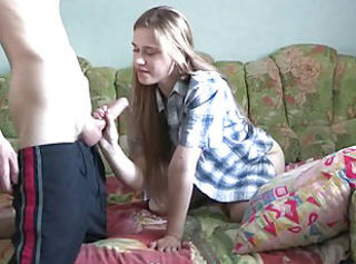 Amateur Handjob Homemade Sister Teen