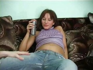 Amateur Drunk Jeans Teen