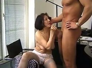 Mature woman and guy - 31