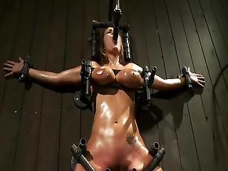 Big-titted Trina Michaels Enduring Some Dirty X-rated Slavery Inside Masochism Mov