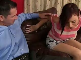 Young beautiful breasts student
