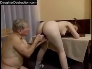 Ass Daddy Daughter Old and Young Teen Toy