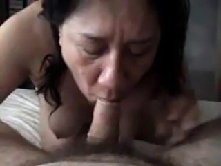 Amateur Blowjob Homemade Mature Mom Old and Young Small cock