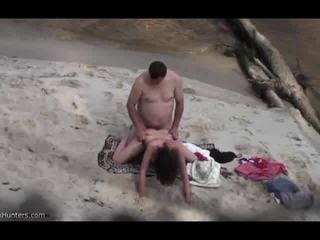Dirty Voyeur Shoots Hot Naked Couple Fucking On The Beach In Early Morning Sex Tubes