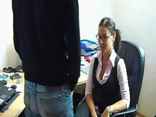 Amateur Hot Smal Tits German Office Fuck