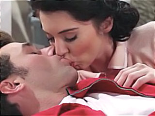 Brunette In Retro Setting Gets And Gives...