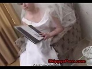Bride fucked before her wedding
