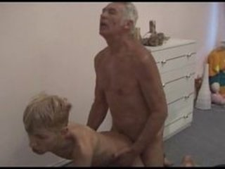 Skinny Blond Teen Boy Gets Fucked By...