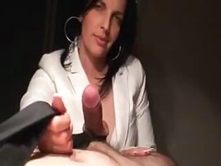 German Milf Sucking His Hard Cock In This Homemade Pov Video