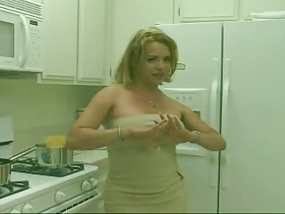 Blonde Shemale Good Boobs Tits Busty