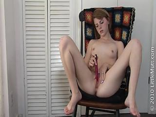 Undressed Girl Shows Her Sweet Vagina