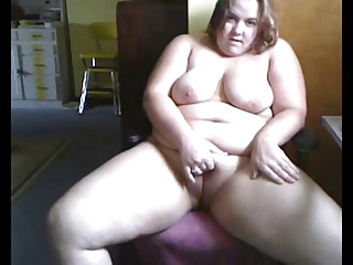 Fat Horny Bbw Ex Girlfriend Playing On Webcam