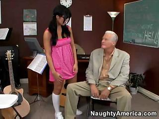 Lusty Teacher Lorena Sanchez Fucks With The Parents Of Her Students Regularly