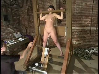 Babydoll Worked Over In The Stocks