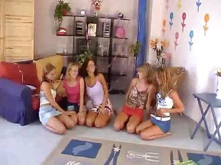 Five Girls Orgy - M27