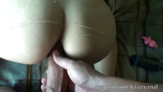 Amateur Alisa Ford First Time An...