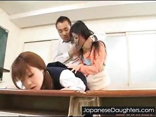 Dirty Daddy And Japanese Daughter...