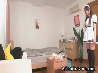 Naughty And Sexy Asian Housewife Sucks Part6