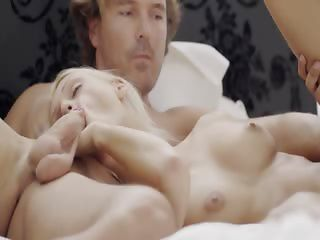 divinely hardcore gangbang threesome