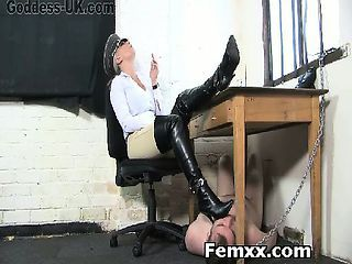 Amazing Femdomme With Hungry Slut