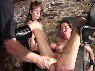 Nasty Experimenting Mistress Conducts Un...