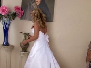Blonde Bride Takes A Fucking
