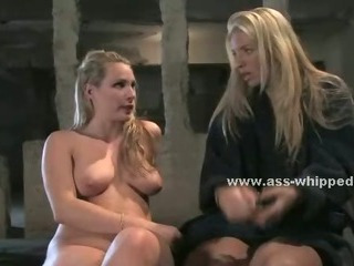 Blonde Lesbian Telling Her Shrink About...