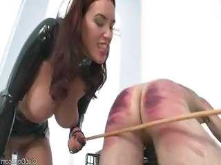 Male Slave Receives Some Training From H...