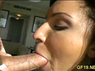 Young Girl Enjoys Pussy-stretch