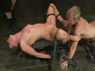 Lesbian Bdsm Action With Two Bitches Get...