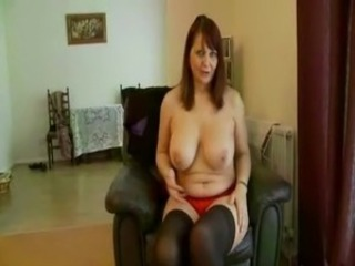 British MILF in a clothe teases